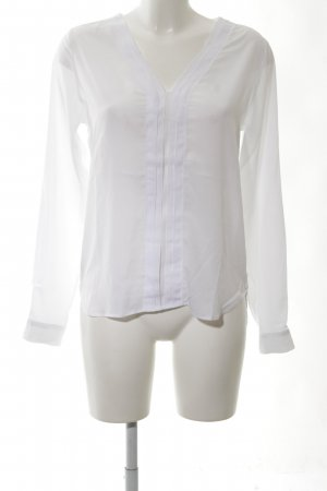 Rich & Royal Transparent Blouse white business style