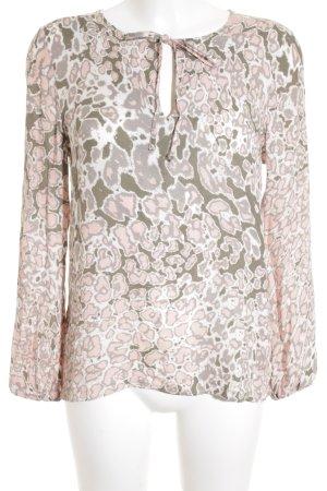 Rich & Royal Tunika abstraktes Muster Casual-Look