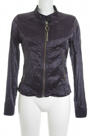 Rich & Royal Übergangsjacke dunkelviolett Casual-Look