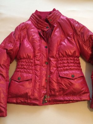 Rich &Royal Winterjacke weinrot