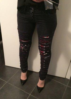 John Richmond Jeans skinny nero-antracite