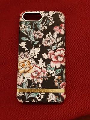 Carcasa para teléfono móvil negro-rosa
