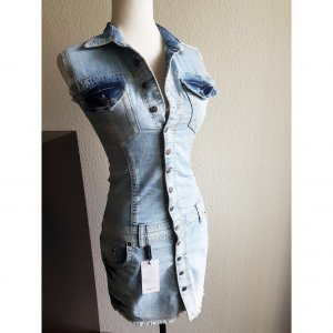 Richmond Robe en jean bleu azur