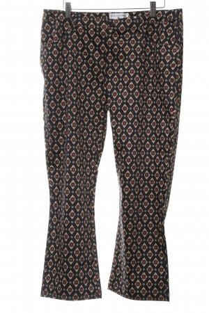 rick cardona 7/8 Length Trousers abstract pattern casual look