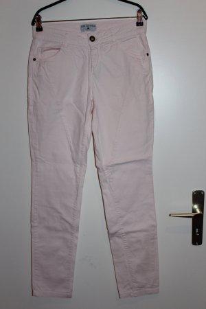 Rick Cardona Gr. 38 Chinohose Hose Damen rosa nude Wie NEU!