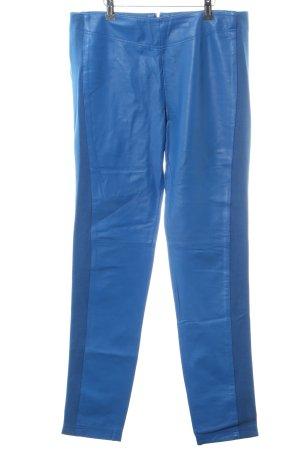 rick cardona Pantalone in pelle blu elegante