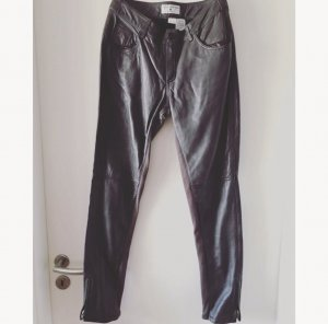 rick cardona Leather Trousers taupe leather