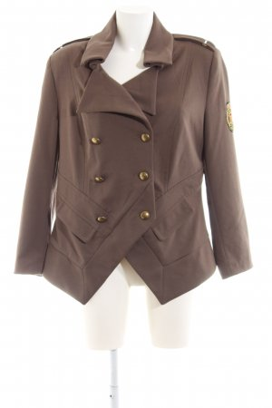 rick cardona Military Jacket brown business style