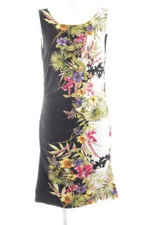rick cardona Vestido de tubo estampado floral estilo clásico