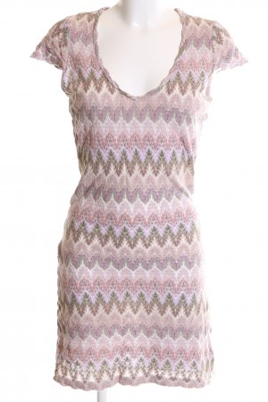 rick cardona Knitted Top abstract pattern casual look