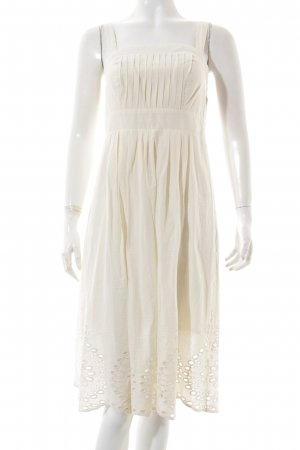 rick cardona Pinafore dress natural white Boho look