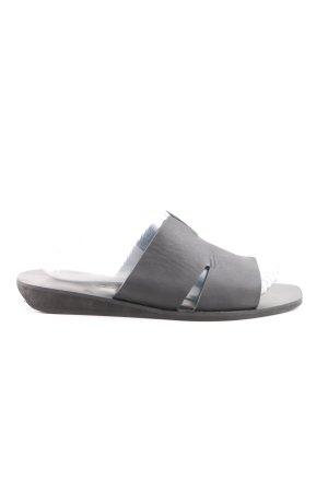 Rick owens Heel Pantolettes light grey casual look