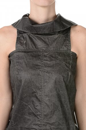 Rick Owens - DRKSHDW DBLE CHALICE dress in cotton