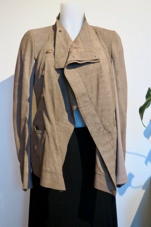 RICK OWENS Eileen Leather Jacket, Gr. 40