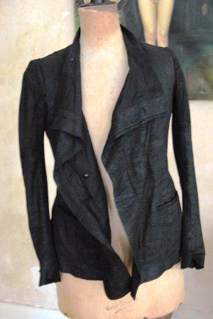 RICK OWENS LEDERJACKE Designer Jacket
