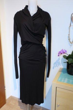 RICK OWENS Lilies Black Skirt, Gr. IT 44 / DE 40