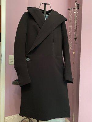 Rick owens Abrigo con capucha negro