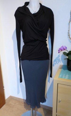 RICK OWENS Vicious S/S14 Blue/Gray Skirt , Gr. DE 38