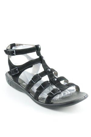 Ricosta Comfort Sandals black punk style