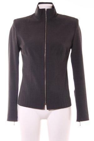 Rieger Jersey Blazer gris oscuro elegante