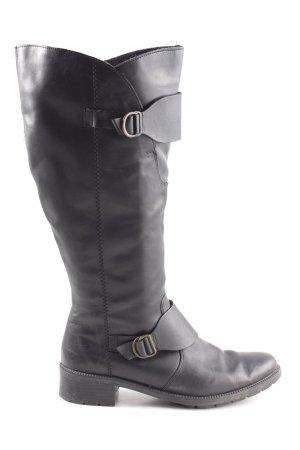 Rieker Absatz Stiefel schwarz Casual-Look