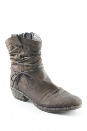 Rieker Ankle Boots braun Country-Look