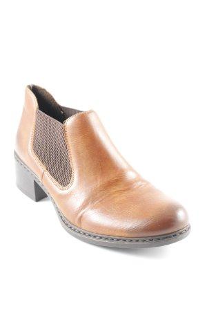 Rieker Ankle Boots cognac-dunkelbraun Casual-Look
