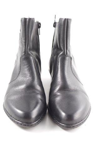 Rieker Ankle Boots schwarz Casual-Look