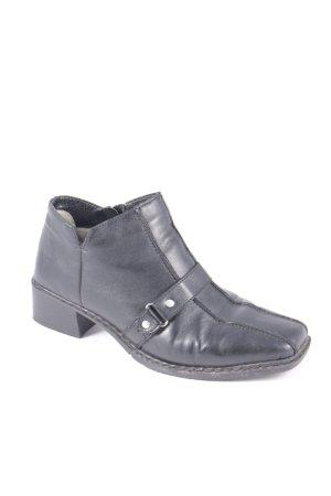 Rieker Ankle Boots schwarz