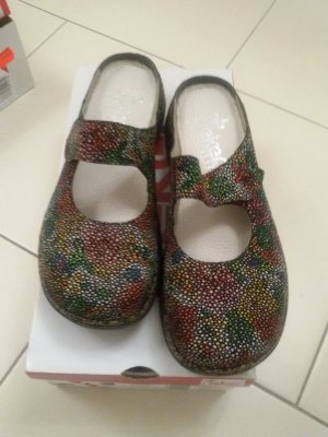 Rieker Mules multicolored