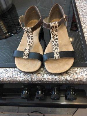 Rieker Comfort Sandals dark brown