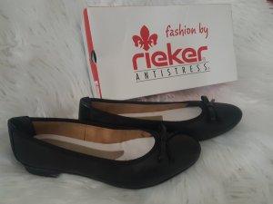 Rieker Ballerina aperta sul tallone nero