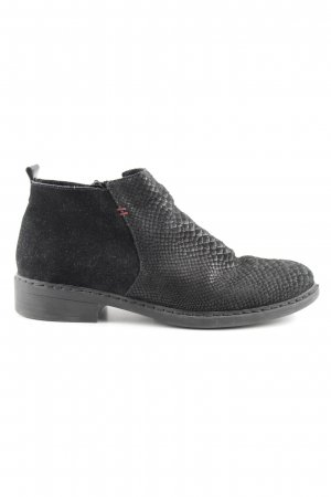 Rieker Booties schwarz Casual-Look