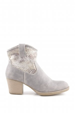 Rieker Booties light grey-gold-colored casual look