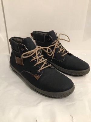 Rieker Boots Gr.42 Kurzschaft-Stiefeletten blau NEU