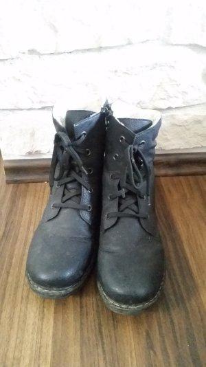 Rieker Boots schwarz Gr.40 (39)