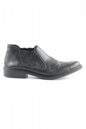 Rieker Chelsea Boots black casual look