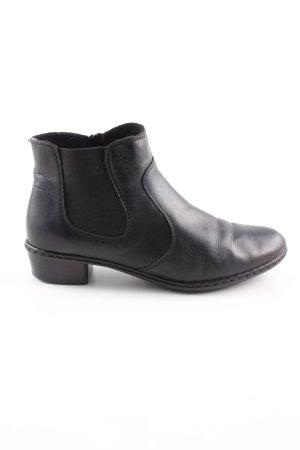Rieker Chelsea Boot noir style classique