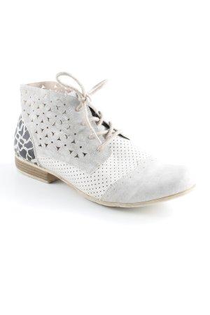 Rieker Desert Boots hellgrau-schwarz Casual-Look