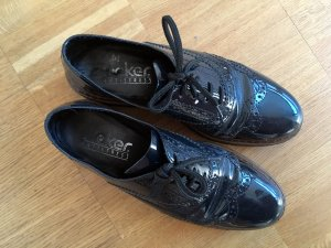 Rieker Wingtip Shoes dark blue