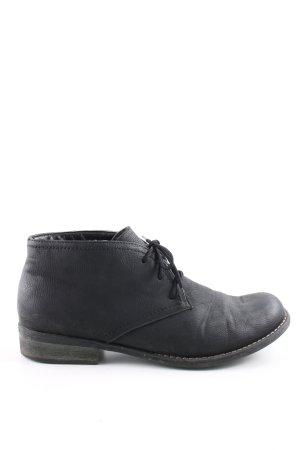 Rieker Korte laarzen zwart zakelijke stijl