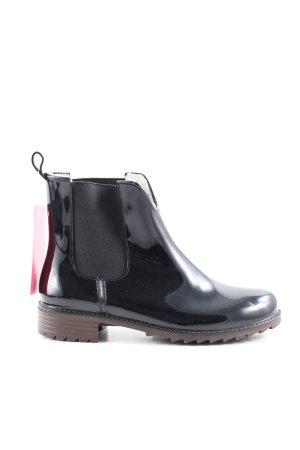 Rieker Korte laarzen zwart casual uitstraling