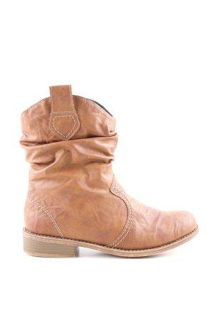 Rieker Short Boots brown casual look
