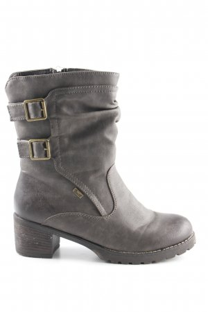 Rieker Short Boots grey brown second hand look