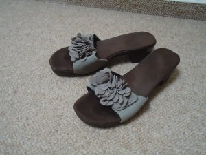 Rieker Mules grey leather