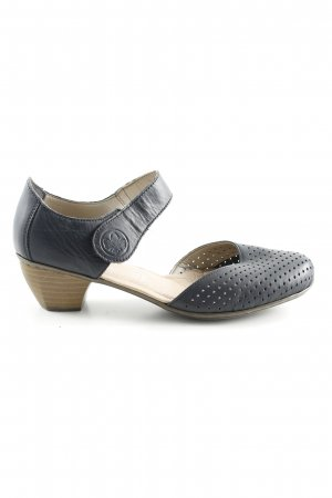 Rieker Mary Jane Pumps blue casual look