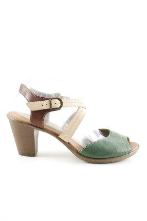 Rieker Riemchen-Sandaletten mehrfarbig Casual-Look