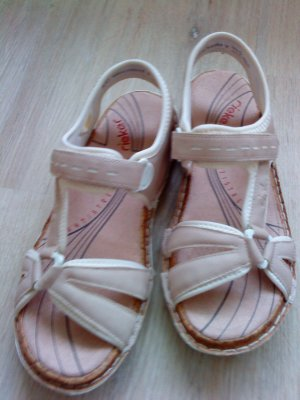Rieker Sandale * Sandalen * Gr. 42 * rosa-creme * 1x getragen