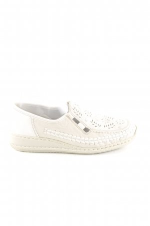 Rieker Slip-on Sneakers natural white casual look