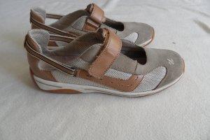 Rieker Schuhe gr. 40 Braun Leder/ Stoff  Top.